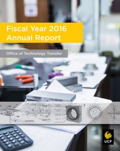 Fiscal year 16 annual report cover